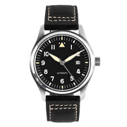 50m/165ft Wr Spitfire Pilot's Watches Miyota Automatic Sapphire Crystal 42mm