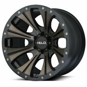 Helo He901 Ddt 17x9 Wheels Rims 35 Mxt Mt Tires Package 6x5.5 Fit Toyota Tacoma
