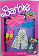 Barbie Cool Times Fashions 3323 New Never Removed From Pack 1988 Mattel Inc.
