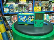 Nintendo Gameboy Pocket Pokemon Two Tone Red Green With Box