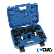 Temco Th0390 Manual Knockout Punch Kit Andfrac12andrdquo To 2andrdquo Electrical Conduit Hole Sizes