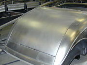 1933 1934 Ford Coupe Cabriolet And Roadster Smooth Deck Lid Outer Skin
