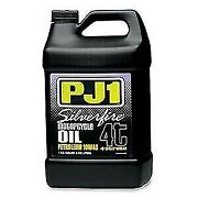 Pj1 9-32-1g Goldfire 10w-40 Synthetic Blend Motorcycle Engine Oil 1 Gallon