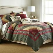 Country Primitive Farmhouse Spice Postage Stamp Ultra Comfort Quilt Collection