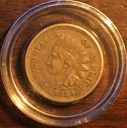 1859 Indian Head Penny 1c Unslabbed