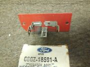 Nos 1969 - 1973 Ford Mustang Heater Blower Motor Resistor C8oz-18591-a