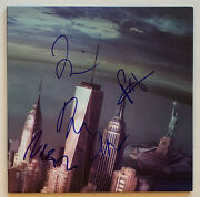 Foo Fighters Autographed Sonic Highways Vinyl Record Album Signed X5 Beckett Bas