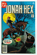 Jonah Hex 5 6.5 Reprints 1st App From All Star Western 10 Ow/w Pgs 1977