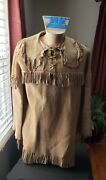 Native American Indian Shirt Large From A Mid West Estate 1920-30s