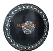 36and039and039 Marble Dining Table Top Mother Of Pearl Fine Floral Inlay Garden Arts B276