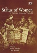 The Status Of Women In Classical Economic Thought Hardcover Chris Nyland