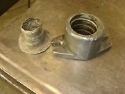 Vintage Maytag 72 92 Hit And Miss Engine Slotted Exhaust Flange Gas Engine Motor