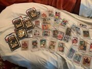 Lot Of Baseball Cards Collection 1950's - 2000's See List Attached