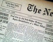 Inkster Michigan African American Ford Motor Company Employees 1931 Newspaper