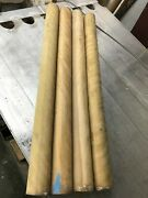 3x36 Curly/tiger/flame Yellow Birch Dowel Figured Kiln Dried Turning Wood