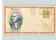 George Washington Bicentennial Jan. 1 1932 With 8ct Stamp First Day Of Issue