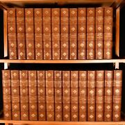 1910-1911 26vols The Works Of William Makepeace Thackeray Library Set