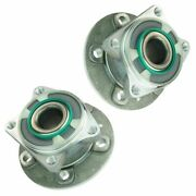 Timken Wheel Bearing And Hub Assembly Rear Pair Set For Volvo 60 70 80 Series Awd
