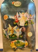 Disney Tinker Bell Fairies Porcelain Doll Keepsake Collectible- New In Box