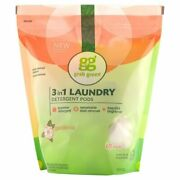 Natural 3 In 1 Laundry Detergent Pods Gardenia-with Essential Oils 60 Loads