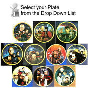 1990s Star Treknext Gen Episode Plate Collection-your Choice Of 10 Or Set