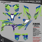Dfr Traction Graphic Kit Electric Full Wrap 2009-2013 Yamaha Yfz450r