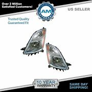 Headlights Headlamps Left And Right Pair Set New For 06-09 Toyota Prius