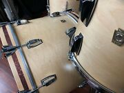 Ludwig Drums Sets Classic Maple Usa Fab 13 16 22 Satin Natural Kit W/ Accents