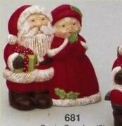 Mr And Mrs Santa Claus Ready To Paint Ceramic Bisque