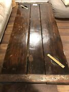 Vintage Nautical Reclaimed Wood Coffee Table Wwii Oliver Ellsworth Cargo Ship.