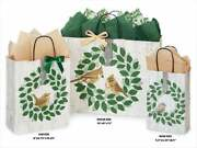 Farmhouse Birds Design Party Gift Paper Bag Only Choose Size And Pack Amount