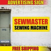 Sewmaster Banner Advertising Vinyl Sign Flag Sewing Machine Service Repair Sales