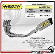 Arrow Competition Race Tech Full Titanium Full Exhaust Bmw S1000rr /abs 09/14