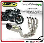 Arrow Full Exhaust Competition Titanium And Steel Collectors Kawasaki Zx10rr 17/