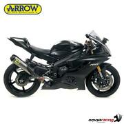 Arrow Full Exhaust Competition Evo 3 Full Titanium And Collectors Yamaha R6 2017/