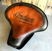 2015-2021 Indian Scout Bobber Spring Tractor Seat 15x14 T Leather Mounting Kit