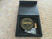 Porsche Classic Project Gold 993 Turbo Grill Badge And Flash Drive Gift Boxed 333