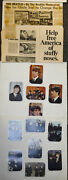1964 Beatles Scrapbook Newspaper Clippings Articals Trading Cards Must See