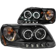 111097 Anzo Headlight Lamp Driver And Passenger Side New For F150 Truck F250 Lh Rh