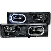 Anzo 111007 Headlight For 88-98 Gmc C1500 Left And Right