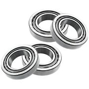 Set-tmset45-c Timken Bearings Set Of 4 Front And Rear Driver Passenger Side New