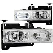 Anzo 111006 Headlight For 88-98 Gmc C1500 Left And Right