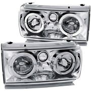 111092 Anzo Headlight Lamp Driver And Passenger Side New Lh Rh For Land Cruiser