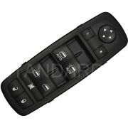 Dws-1386 Power Window Switch Front Driver Left Side New Black Lh Hand For Dodge