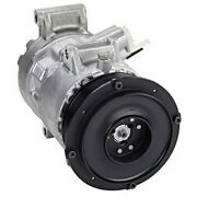 471-1617 Denso A/c Ac Compressor New With Clutch For Toyota Camry Rav4 2006-2008