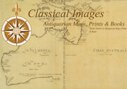 1854 Handtke And Flemming Antique Map Of Australia, New Zealand, Pacific 31988