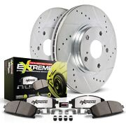 K2598-26 Powerstop Brake Disc And Pad Kits 2-wheel Set Front New For Chevy