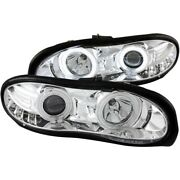 121159 Anzo Headlight Lamp Driver And Passenger Side New For Chevy Lh Rh Camaro