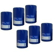Set-acpf61f-6 Ac Delco Oil Filters Set Of 6 New For Chevy Olds Le Sabre De Ville