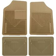 Set-h2151053-4 Husky Liners Set Of 4 Floor Mats Front New Tan For Vw Coupe Sedan
